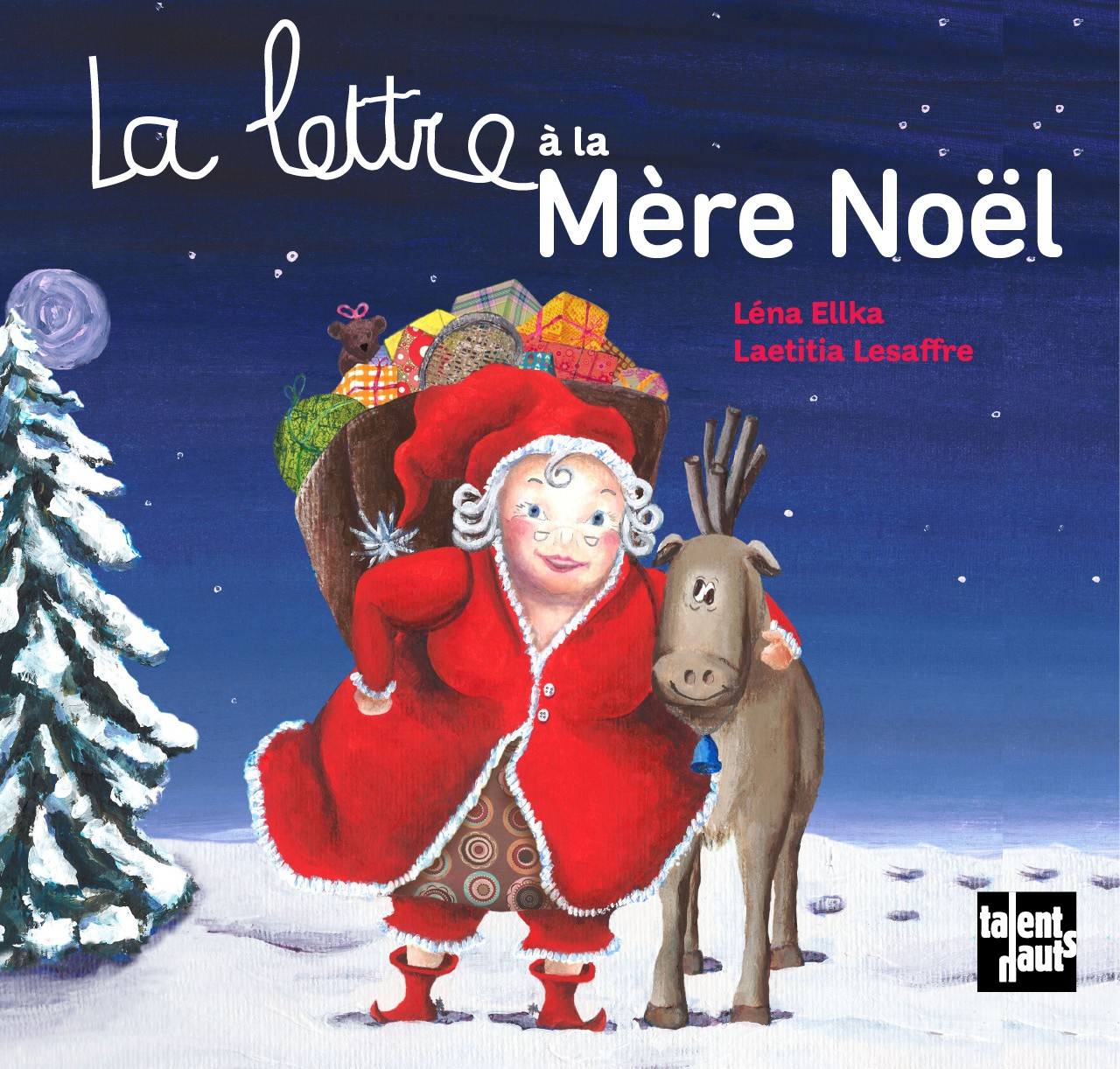 Image De Noel Drole.La Lettre A La Mere Noel