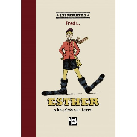 Esther a les pieds sur terre